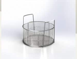 Made to Order Round Dipping Basket