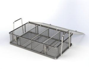 Heavy Duty Parts Washing Basket 304 Stainless