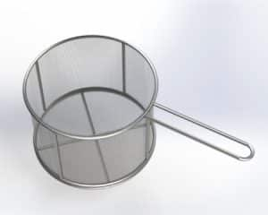 Three M Tool Stainless Parts Cleaning Basket