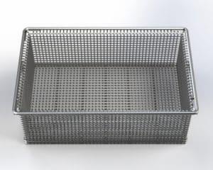 Three M Tool Heavy Duty Wire Mesh Steel Basket
